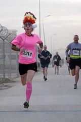 Turkey Trot 5K Race Participant