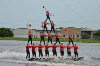 Tampa Bay Water Ski Show Team offers Free Entertainment