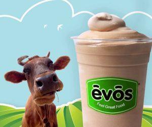 EVOS Birthday Celebration Offers FREE Shake