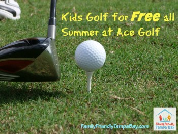 Free Summer Golf for Kids at Ace Golf Locations