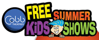 Cobb Theatres/CMX Cinemas Free Summer Movies Guide for Kids
