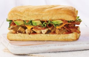 Chipotle Chicken Sandwich w/ Avocado from Earl of Sandwich