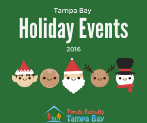 Top 2016 Holiday Events Around Tampa Bay