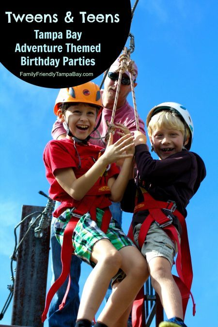 Adventure Themed Birthday Party for Tampa Bay Tweens & Teens