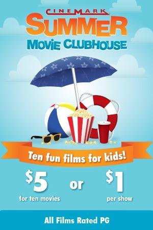 Summer Kid Movies at Cinemark Lakeland Square Mall