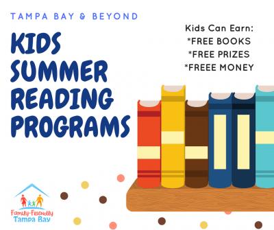 2018 Kids Summer Reading Programs Around Tampa Bay and Beyond