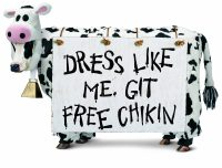 Dress Like a Cow, Get Free Food at Chick-fil-A