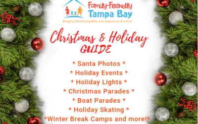 Tampa Bay Guide to Santa, Holiday Events, Lights, Parades, Ice Skating and More!