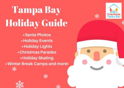 Tampa Bay Guide to Santa, Holiday Events, Lights, Parades, Ice Skating and More!