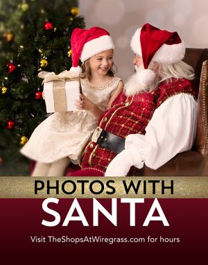 Santa Photos at The Shops at Wiregrass