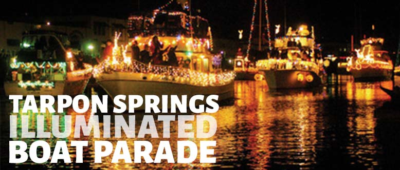 Tarpon Springs Illuminated Boat Parade