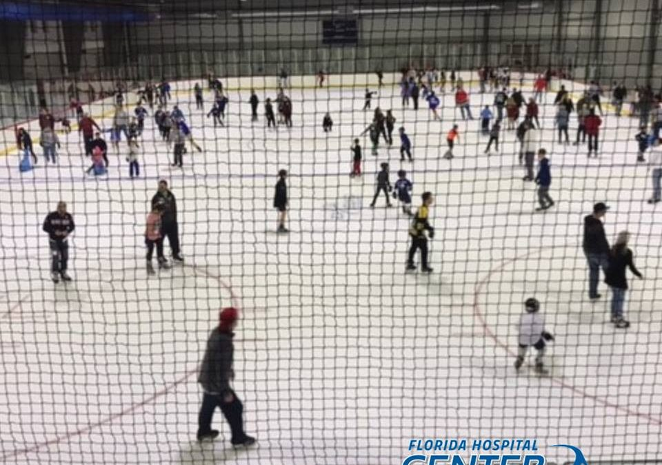 Public Ice Skating at Florida Hospital Center Ice