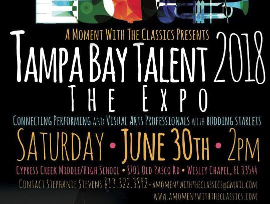 Tampa Bay Talent 2018 – The Expo!