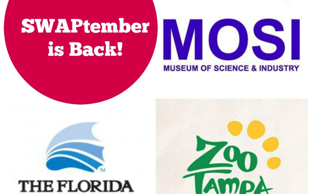 2019 Insiders Guide to SWAPtember at MOSI, ZooTampa, and Florida Aquarium