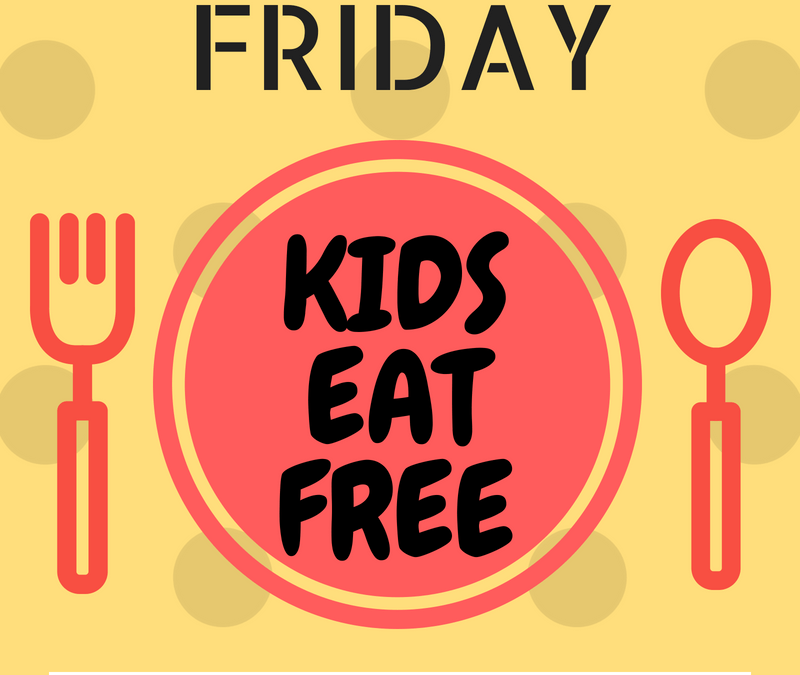 Tampa Bay: Kids Eat Free & Cheap on Fridays
