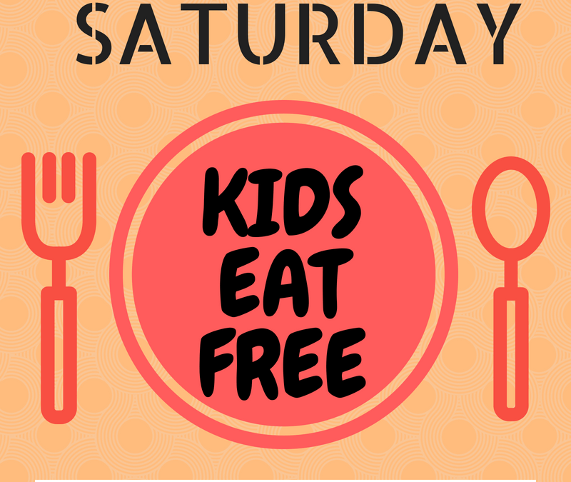 Tampa Bay Area Kids Eat Free & Cheap on Saturdays
