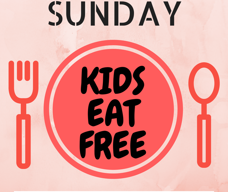 Sundays: Tampa Bay Area Kids Eat Free & Cheap