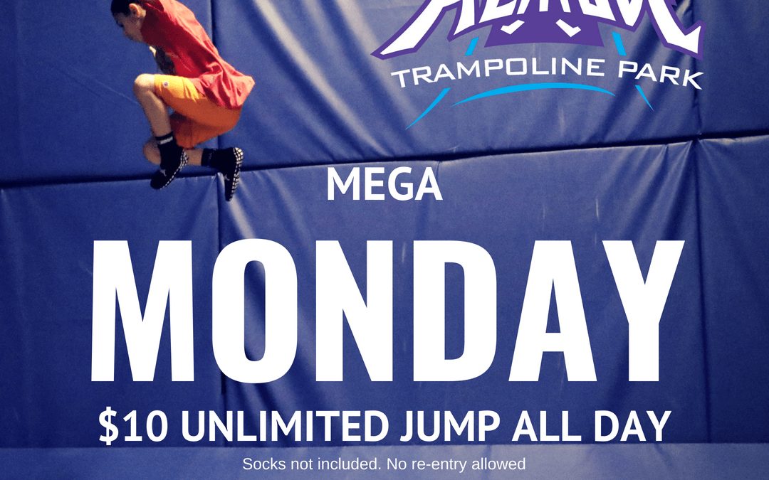 $10 All Day Jump at Altitude
