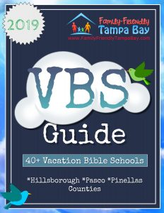 2019 Vacation Bible Schools (VBS) Around Tampa Bay That Are Free and