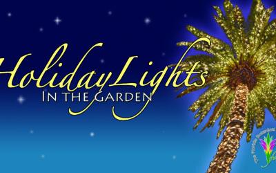Holiday Lights at The Florida Botanical Gardens