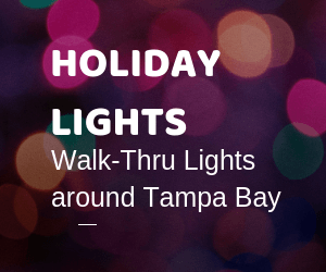 13 Holiday Lights for Tampa Bay Families