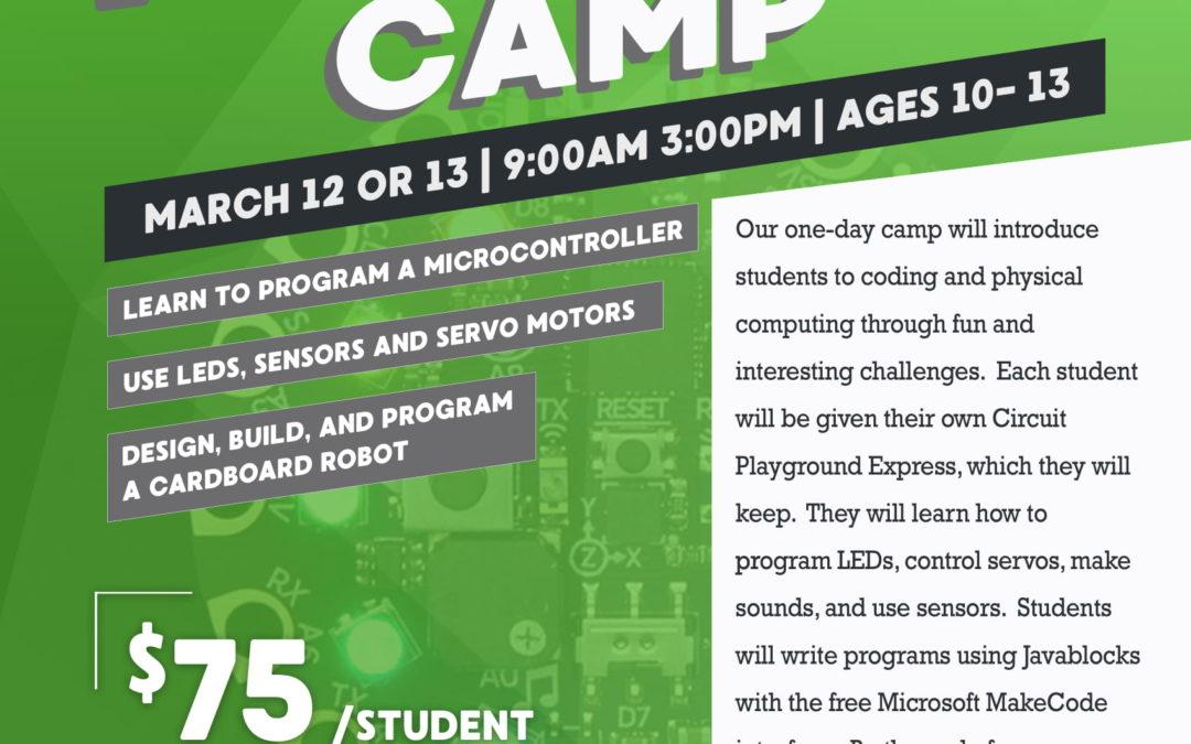 Spring Break Maker Camp at St. Petersburg College (Tarpon Springs)