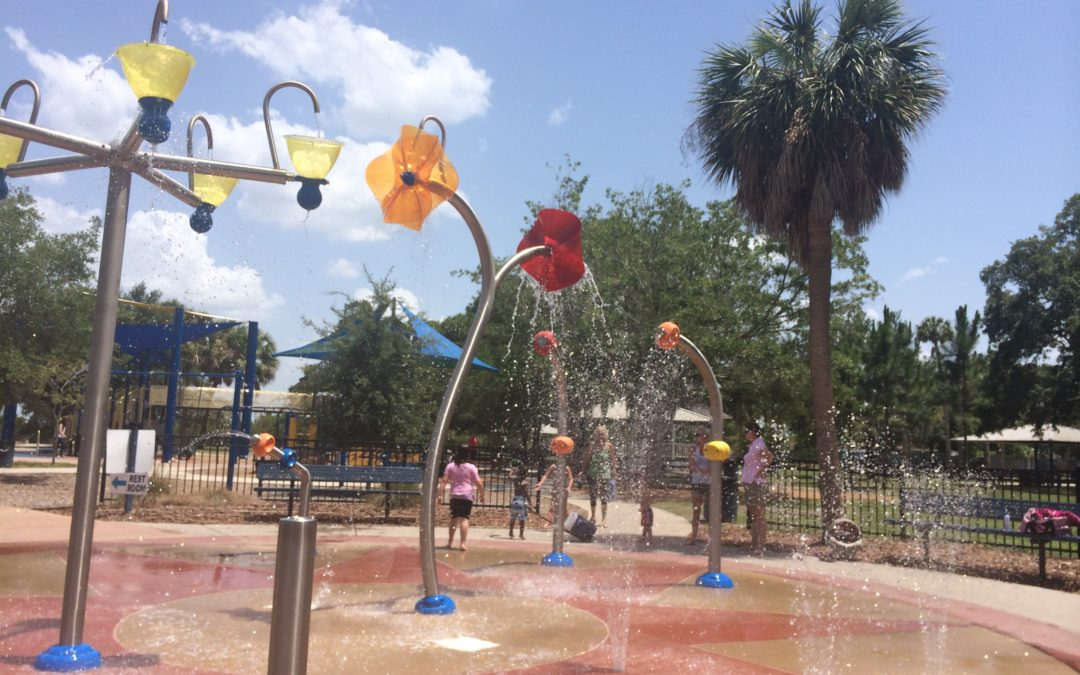 Splash Pad at Ballast Point Park