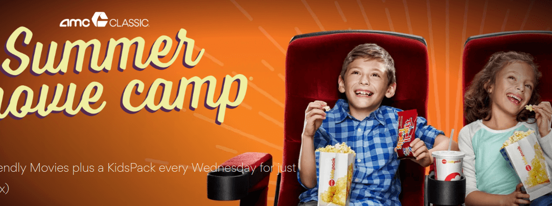 $4 Summer Kids Movies at AMC Theatres for 2019