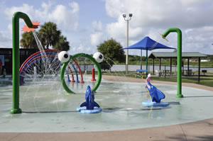 Splash Pad at Dell Homes Park