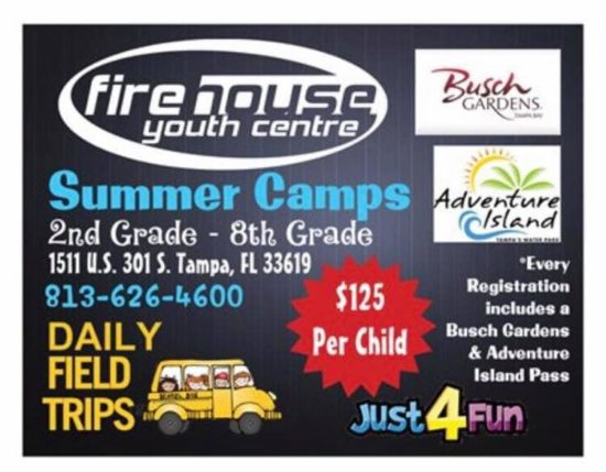 Firehouse Youth Summer Camps