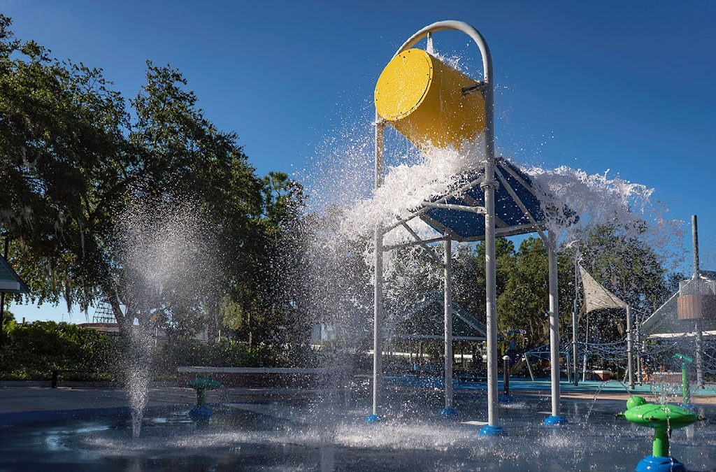 Water Works Park Splash Pad