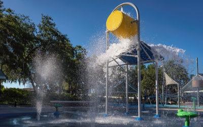 Water Works Park Splash Pad
