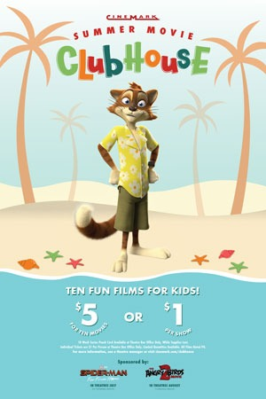 $1 Summer Kid Movies at Cinemark Lakeland Square Mall (2019)