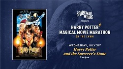 Movie on the Lawn at Sparkman's Wharf