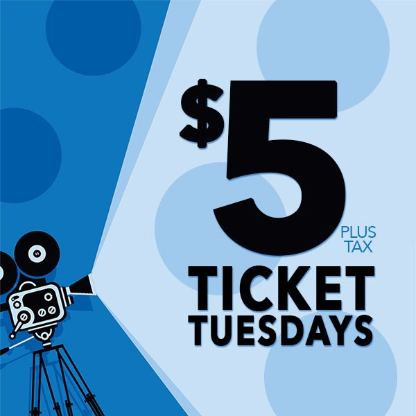 Visit on Tuesday for $5 Movies at GTC Beacon Brooksville