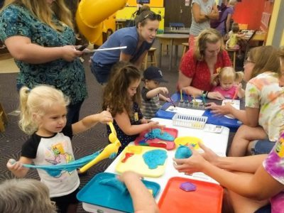 Totally Tots Week at the Great Explorations Museum