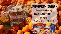 Pumpkin Smash Demo Derby in Brooksville