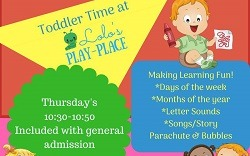 Toddler Time at LoLo's Play-Place