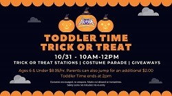 Toddler Time Trick or Treat at Altitude!