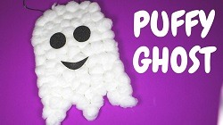 Craft Class: Puffy Ghost at Learning Express