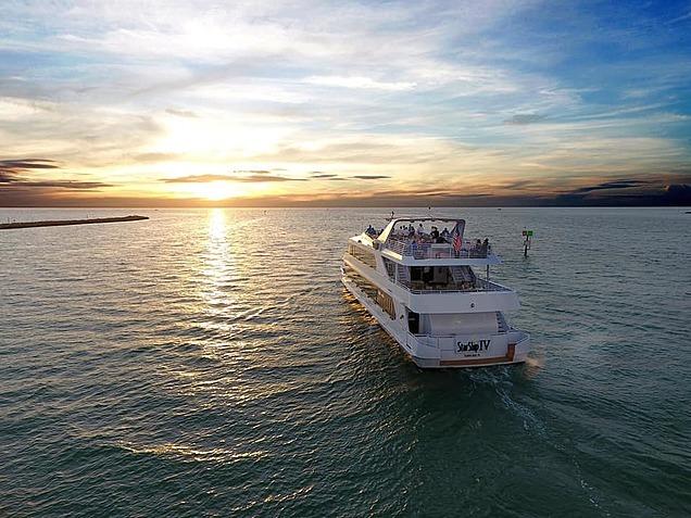 large yacht starship cruises