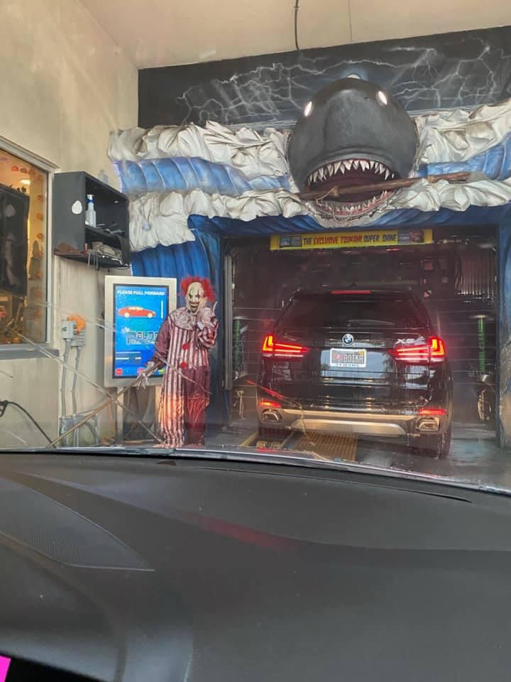 Haunted Car Wash At The Palms Car Wash Family Friendly Tampa Bay
