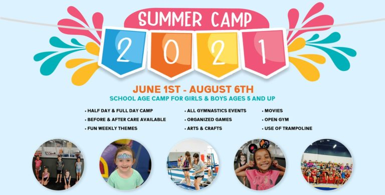 Premier Gymnastic Summer Camps  768x390