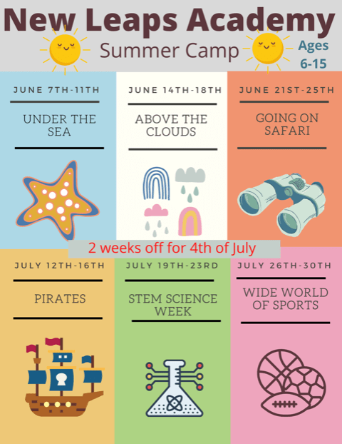 Summer Camp Flyer 2021