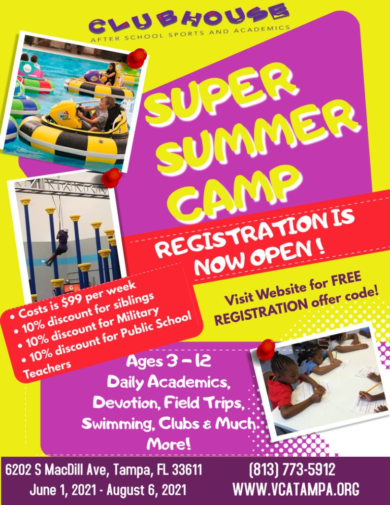 South Tampa Summer Camp