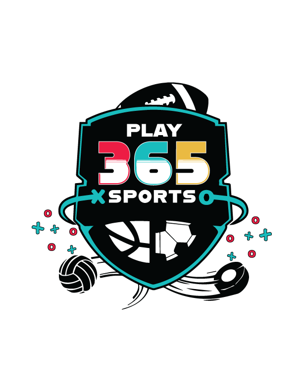 Play365sports logo teal outline